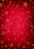 Red Grunge Star Background Royalty Free Stock Images
