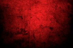 Red concrete wall. Red grunge textured wall background Stock Photos