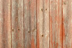 Red grunge wooden boards Royalty Free Stock Photos