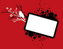 Red grungy background Royalty Free Stock Photo