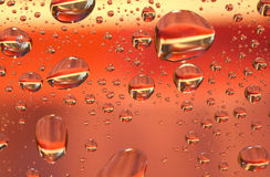 Red h2o Royalty Free Stock Photos