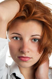 Red hair Stock Photography