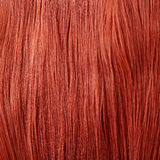 Red Hair. Natural hair background stock photos