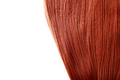 Red Hair. Natural hair background stock photography
