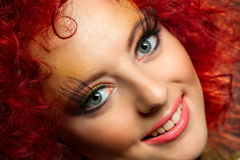 Red Hair. Stock Photography