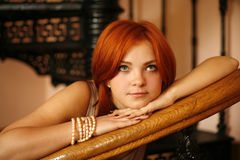 Red hair Stock Images