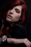 Red hair beauty Royalty Free Stock Photo