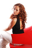 Red hair beauty Royalty Free Stock Photography