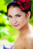 Red hair beauty Royalty Free Stock Image