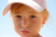 Red hair child Royalty Free Stock Photos
