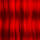 Red hair curtain Royalty Free Stock Images