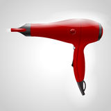 Red hair dryer Stock Photography