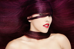 Red Hair fashion portrait Stock Image