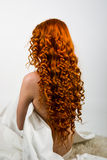 Red hair girl Royalty Free Stock Photos