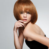 Red Hair. High quality image. royalty free stock photography