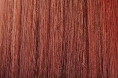 Red hair texture Royalty Free Stock Images