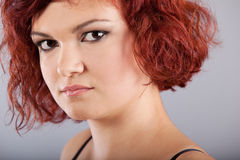Red hair woman portrait Royalty Free Stock Images