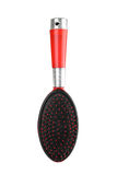 Red hairbrush Stock Photo