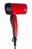 Red hairdryer Royalty Free Stock Image