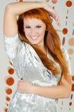 Red-haired девушка стоковые изображения