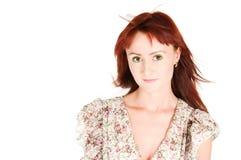 Red-haired красотка стоковая фотография