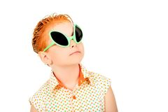 Red haired Stock Photography