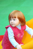 Red haired baby Royalty Free Stock Photo