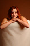 Red haired beauty Royalty Free Stock Photography