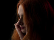 Red-haired beauty Royalty Free Stock Photos