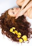 Red-haired bonito fotos de stock