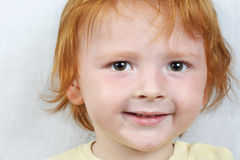 Red haired boy Royalty Free Stock Images