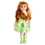 Red-haired doll for girls Royalty Free Stock Photo