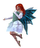 Red haired fairy Stock Image
