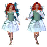 Red haired fairy Royalty Free Stock Photo