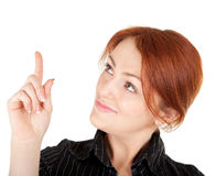 Red-haired girl Royalty Free Stock Images