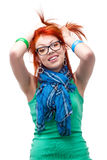 Red haired girl Royalty Free Stock Photo