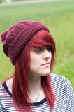 Red haired girl Royalty Free Stock Photography