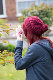 Red haired girl Royalty Free Stock Photos