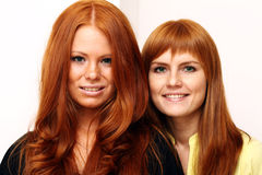 Red-haired girls Royalty Free Stock Photography