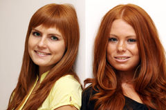 Red-haired girls Royalty Free Stock Photo