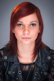 Red haired teenager portrait Royalty Free Stock Photography