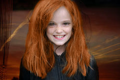 Red haired witch Royalty Free Stock Photos