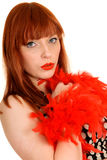 Red haired woman Royalty Free Stock Photo