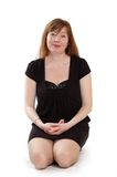 Red-haired woman Royalty Free Stock Images
