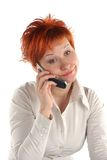 Red haired woman Royalty Free Stock Photos