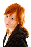 Red haired woman Royalty Free Stock Images