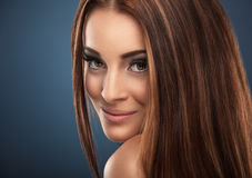 Red-haired woman portrait Royalty Free Stock Images