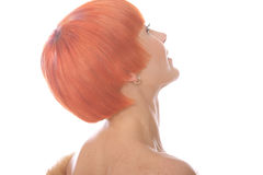 Red hairs Royalty Free Stock Image