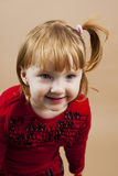 Red hairs girl Stock Images