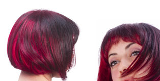 Red hairs Stock Image